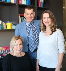 A/Prof Catherine Suter, Prof Mark Febbraio and Dr Jennifer Cropley